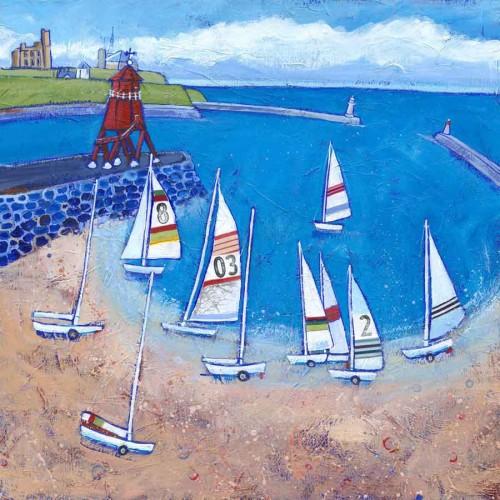 Sailing at South Shields
