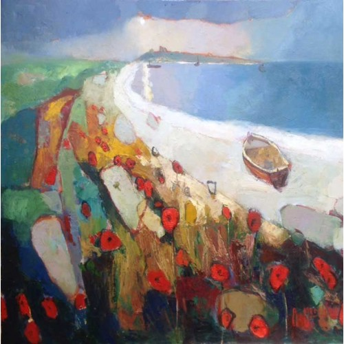 Dunstanburgh - Shoreline Poppies