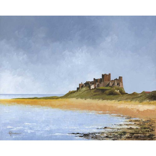 North View, Bamburgh Castle