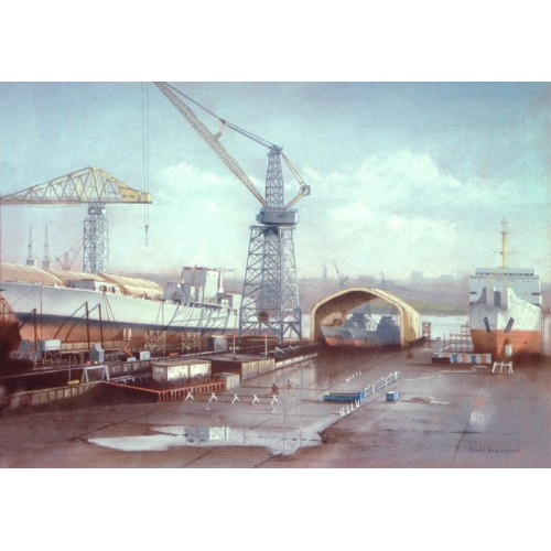 Swan Hunter shipyard, Tyneside