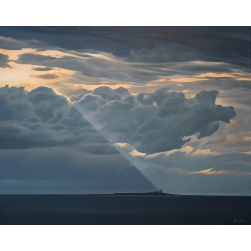 Dark Clouds over Coquet Island