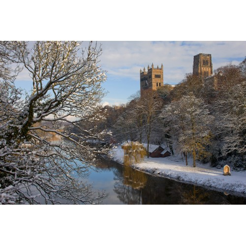 Durham Cathedral from Prebends Bridge