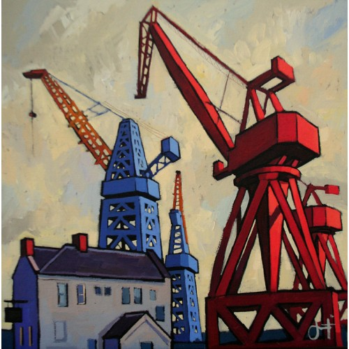 The Last Cranes of Wallsend