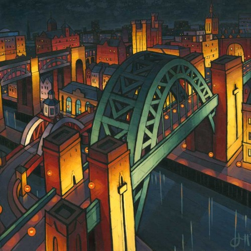 Night Tyne Bridge