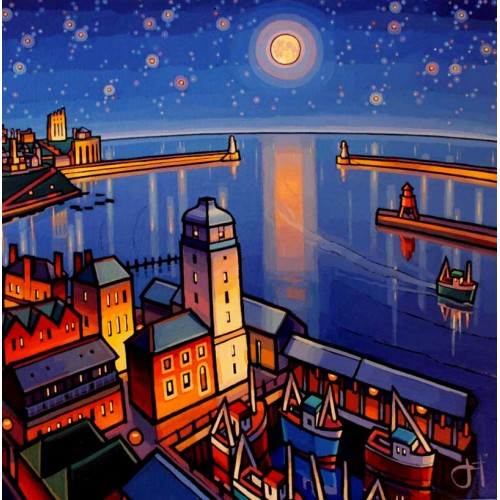 Moonlit Fish Quay