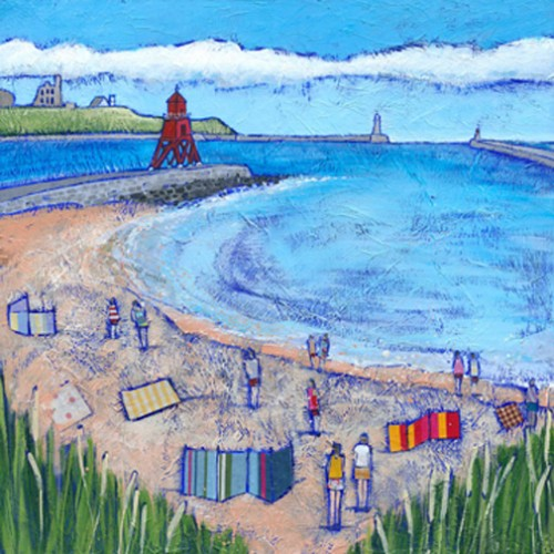 Beach Goers, South Shields