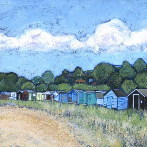 Beach Huts in the Bay