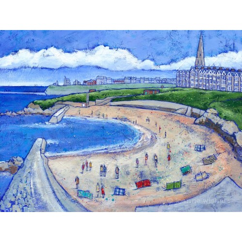 Summer at Cullercoats