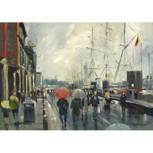 Rainy Day - Tall Ships