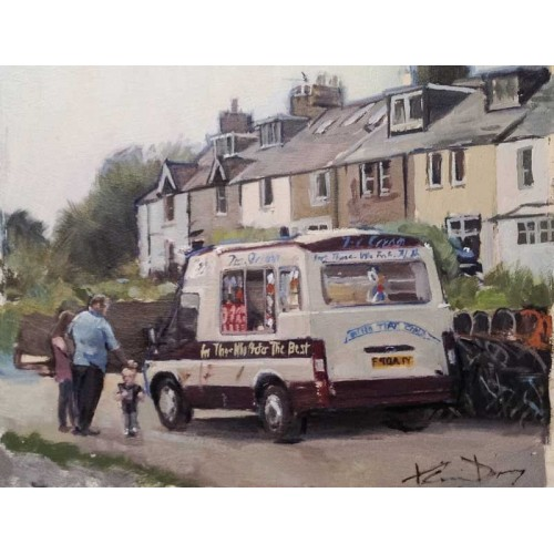 Craster Ice Cream Van