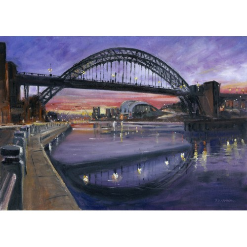 Early Evening - Tyne Bridge