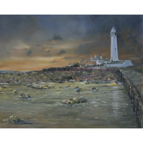 Daybreak at St Mary's Lighthouse