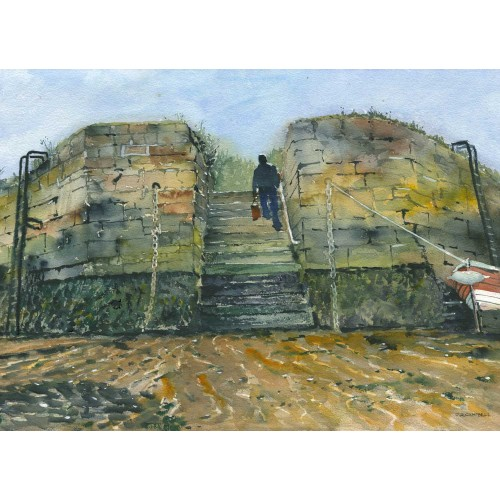 Seaton Sluice Harbour Steps