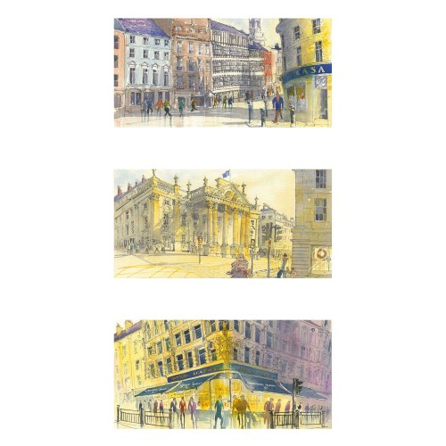 Views of Newcastle Triptych