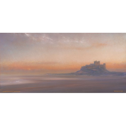 Bamburgh Castle First Light