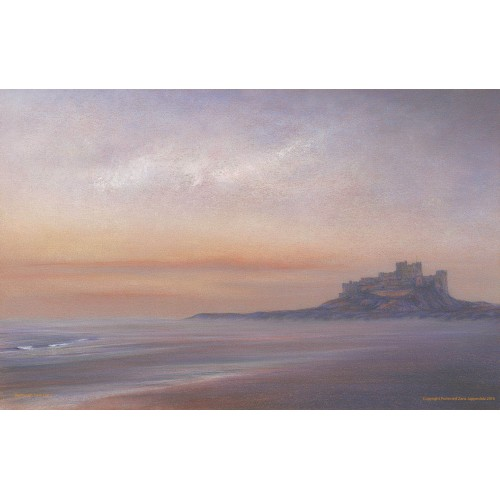 Bamburgh Castle Early Light